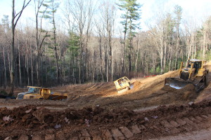 Road and Development Work at Crest Mountain.